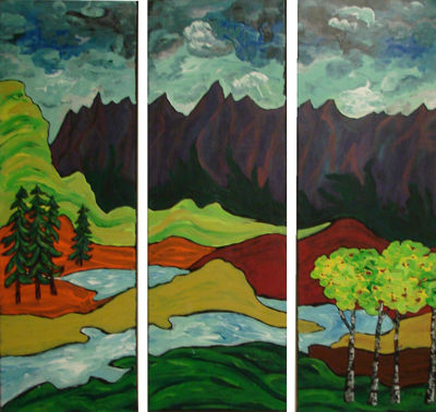 Bow River Triptych